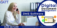 Aligning large volume of digital documents at centralised location is the core job of DMS software offered by GA technocare technology. To have mutual communication with us regarding this software, dial 0120-6671200. www.technocaretechnology.com.