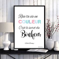 """""""What is done in love is done well.""""a beautiful quote of Vincent Van Gogh aff Phrase Disney, Quote Posters, Quote Prints, Citation Walt Disney, Home Wall Art, Wall Art Decor, Quotes Francais, Citations Disney, Deco Disney"""