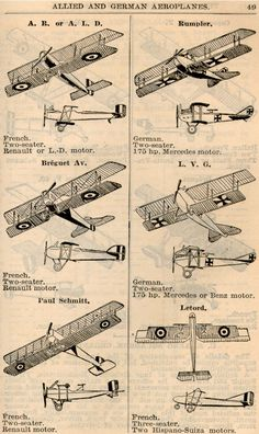WWI Airplanes (4)