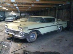 58 Impala...Continetal Kit.. Don Tummie Had A Black One Owner Tri Power Car !~