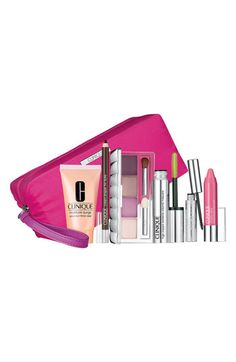 Clinique 'Black Tie - Violets' Makeup Set ($103.50 Value) available at #Nordstrom    Perfect gift set