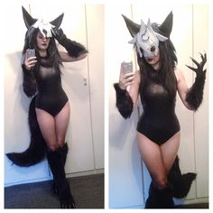 Wolf LoL Kindred Cosplay.                                                                                                                                                                                 More