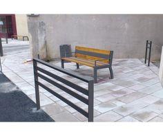 guyon mobilier urbain barriere metal kubic