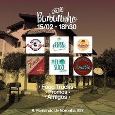 Quarta tem mais uma edição do nosso #burburinho!  Food Trucks Promos Música e muito mais.  Chame seus amigos e faça uma visita pra gente. Com amor Bolo.