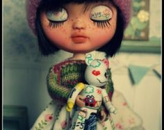 OOAK Custom Icy Doll  ** Suu ** blythe's sister