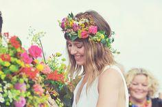 beautiful colourful crown