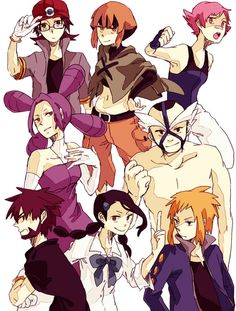Sinnoh Leaders Gardenia and CandICE and Volkner were the coolest. the rest sucked