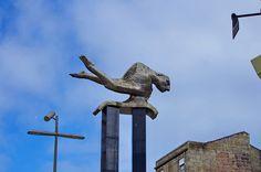 Vigo - Espagne - Galice - 95 Praza Porta do Sol, une sculpture Places To Go, Sculpture, Merman, Sculptures, Spain, Sculpting, Statue