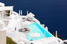 Azure Aegean & whiteness hotel #Santorini http://brands.datahc.com/?a_aid=63082&brandID=286932