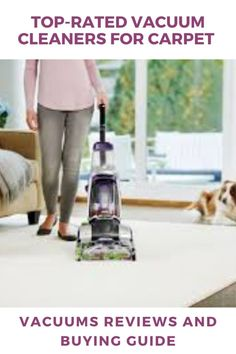 Finding a best vacuum cleaner for carpet is not an easy task. Our buying guide will help you choose the best vacuum for carpet #vacuum #vacuumcleaner #carpetcleaner #carpetvacuums #carpet Top Rated Vacuum Cleaners, Carpet Cleaner Vacuum, Good Vacuum Cleaner, Best Rated Vacuum, Best Vacuum For Carpet, Vacuum Reviews, Vacuums, Business Hub