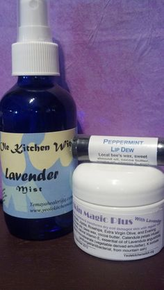 Gifts Triple Play Lavender  Cream Mist & by KitchenWitch1 on Etsy, $18.00