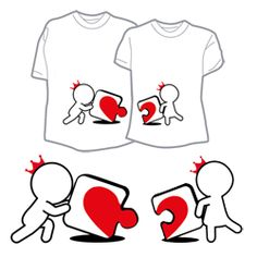 Incomplete Without You Couple T-shirts