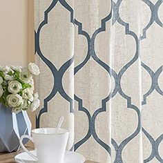 Moroccan Curtains, Blue Curtains, Window Drapes, Hanging Curtains, Fabric Shower Curtains, Panel Curtains, Curtain Panels, Country Curtains, Sheer Curtains