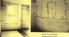 Outline of the old poor house rooms,