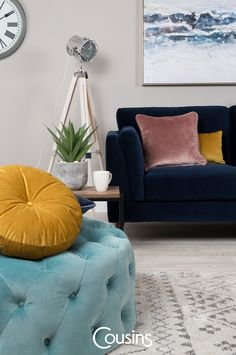 Home and interiors inspiration, latest trends, news and ideas to really make the most of your home. New Life, Interior Inspiration, Breathe, Ottoman, Colours, Chair, Spring, Blog, Furniture