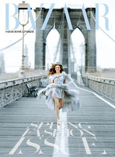 SJP for harper's bazaar