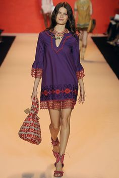 Gypsy Purple: Fashion Find: Anna Sui: peasant style ~ too young for Red Hatters?? ...Maybe with some tights or denims.