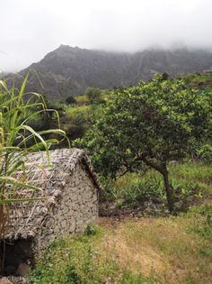 Little house in the mountains of Santo Antao, Cape Verde #Kaapverdie #CaboVerde