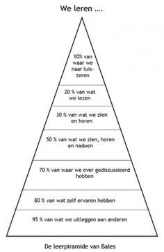 Leerpyramide van Bales