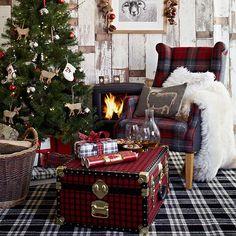 Christmas Interior Design Highland Style
