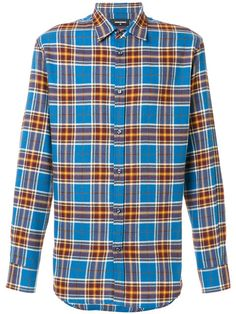 DSQUARED2 Classic Checked Shirt. #dsquared2 #cloth #shirt