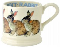 Babymug Rabbit - Pine-apple - Importeur Emma Bridgewater