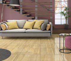 Cores vivas fazem total diferença na decoração, aposte! #sala #livingroom #incefra #piso #pisoceramico #decor #decoracao #ceramica