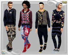Dreaming 4 Sims: Black Hoodie • Sims 4 Downloads