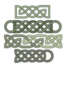 Celtic Knots Wood Carving & Pyrography Patterns by L. S. Irish