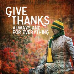 Giving thanks for Ba