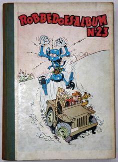 Robbedoes - Verzamelalbum 23 - hc - (1948)