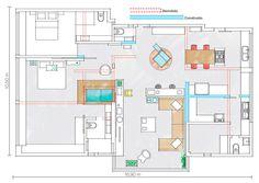 Loft tem espaços integrados e isolados ao mesmo tempo - Casa