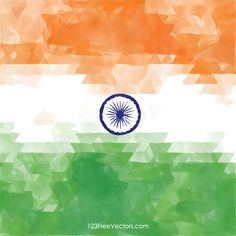India Republic Day Flag Watercolor Background Image Flag Background, Watercolor Background, Background Images, Free Vector Backgrounds, Vector Free, Indian Flag, Flag Vector, Republic Day, Incredible India