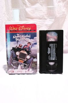 The Absent Minded Professor Walt Disney Comedy Series VHS Film Classics Rated G