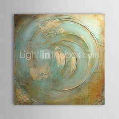 Handgeschilderde Abstract Eén paneel Canvas Hang-geschilderd olieverfschilderij For Huisdecoratie 2017 - €52.91