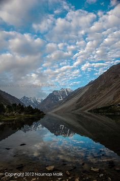 When day starts and you see this infront of you! unbelievable... by High Blue!, via Flickr- Pakistan!