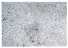 Robert Luzar, Phot Print negative of black and white drawing, infinitely pointing