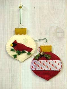 Tree Trimmers Too! : Ornament Gift Card Holder