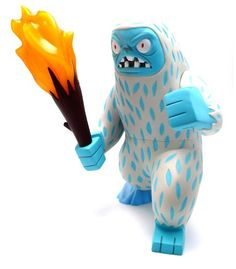 Gama-Go Big Yeti designed by Tim Biskup | available @ yukifish.com