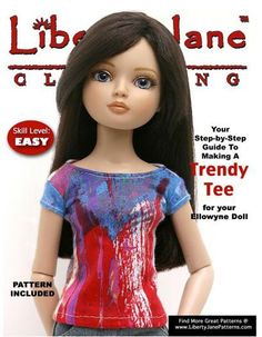 FREE T-Shirt for Ellowyne Wilde Dolls    I so want an Ellowyne Wilde Doll but they are practicly non-existant this side of the atlantic