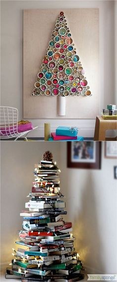 19255 best diy holiday decorating images on pinterest 18 unconventional and beautiful diy christmas trees ideas to create unique christmas decorations for your solutioingenieria Choice Image