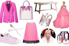 今年の春、ファッションカラーはピンク