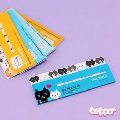 Kawaii Mix Note Stickers - Animals