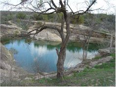 The Big Spring, at the Comanche Trial Park, outside of Big Spring, Texas - near the home of my eldest sister.