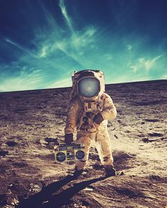 Astroboom 8x10 fine art collage print Surreal by dylanmurphy, $20.00