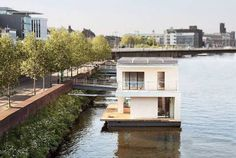Autark Home: A Self-Sufficient, Floating Passivhaus Houseboat : TreeHugger