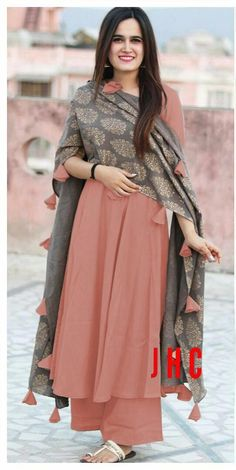 Shop Best Rutbaa Khan Palazoo Suits Online is part of Designer dresses indian - Shop Rutbaa Khan Palazoo Suits Online with the best price Our Fashion magazine helps you get the stylish look for a Wedding & Party wear Salwar Designs, Kurta Designs Women, Kurti Designs Party Wear, Pakistani Dress Design, Pakistani Dresses, Pakistani Suits, Indian Suits Punjabi, Ladies Suits Indian, Bollywood Dress