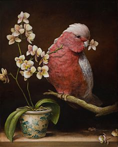 Kevin Sloan draws upon the diverse imagery acquired from his extensive travels around the world to create the unique magic realism paintings that have made him such a well-known, collected artist. Art And Illustration, Illustrations, Magic Realism, Realism Art, Surrealism Painting, Still Life Art, Arte Pop, Surreal Art, Bird Art