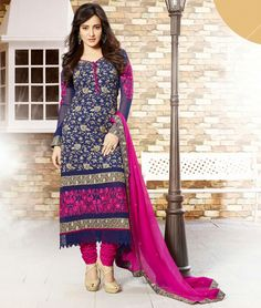 Latest Designer Neha Sharma Designer Anarkali suit looks good on women of all ages that represent the rich Indian heritage.  Shop online from the all new range of designer Anarkali suits online...  Click here:- http://goo.gl/5uE8QS