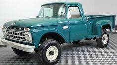 This 1965 Ford F250 (chassisF26DK651230) is a great looking stepside 4x4 that's said to be all-original. The truckshows definite patina, but if truly unmolested we'd call condition excellent if not extraordinary for an old workhorse. Sold with a big stack of records--many of them handwri
